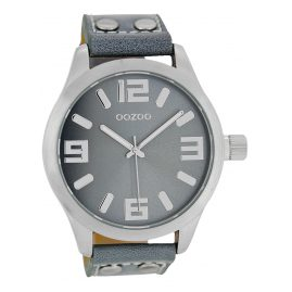 Oozoo C1060 Watch XL Aqua Grey 46 mm