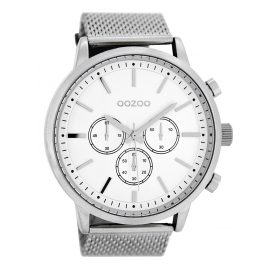 Oozoo C8260 Mens Wristwatch White 48 mm