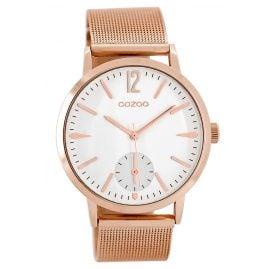 Oozoo C8613 Wrist Watch for Ladies Rose 40 mm