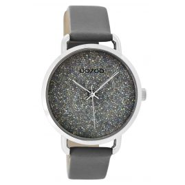 Oozoo C9102 Ladies Wrist Watch Grey 38 mm