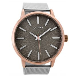 Oozoo C9232 Mens Watch Silver / Grey 49 mm