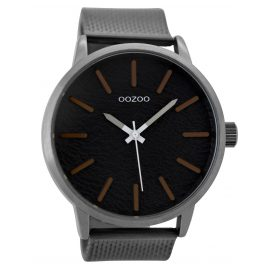 Oozoo C9233 Mens Watch Dark Grey 49 mm