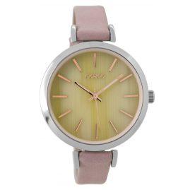 Oozoo C9236 Damen-Armbanduhr Altrosa/Elfenbein 40 mm
