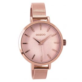 Oozoo C9490 Ladies Watch Mesh Strap rose 38 mm