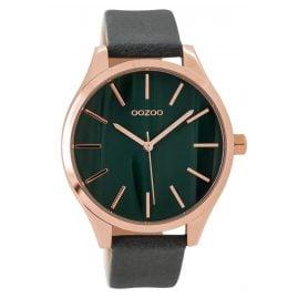 Oozoo C9503 Damenuhr mit Lederband rosé/grau 42 mm