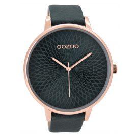 Oozoo C9524 Damenuhr Blaugrün XXL 48 mm