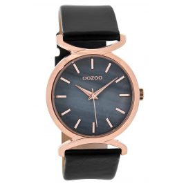 Oozoo C9529 Ladies Watch Black/Darkgrey 36 mm