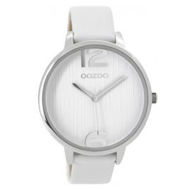 Oozoo C9530 Ladies Watch White / Silver Tone 42 mm