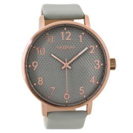 Oozoo C9400 Armbanduhr Rosé/Grau XL 48 mm