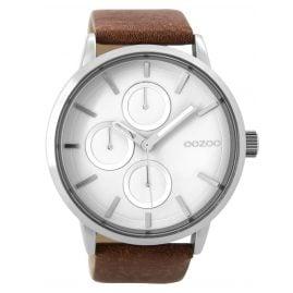 Oozoo C9426 Mens Watch Brown/White XL 49 mm