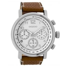 Oozoo C9455 Herrenuhr im Chrono-Look 48 mm