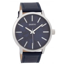 Oozoo C9602 Men's Watch 45 mm Paint Look Dial Blue