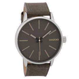 Oozoo C9606 Herrenuhr 45 mm Design-Zifferblatt Grau
