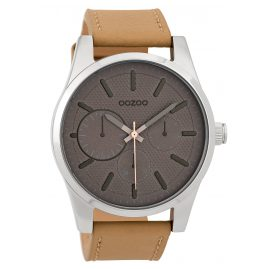 Oozoo C9615 Men's Watch 45 mm Grey/Sand