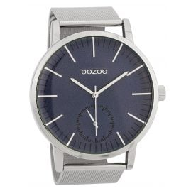 Oozoo C9622 Men's Watch 48 mm Blue/Silver-Tone