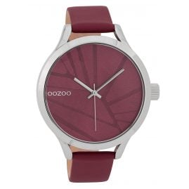 Oozoo C9682 Ladies' Watch 43 mm Design Dial Claret-Red