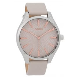 Oozoo C9685 Ladies' Watch 43 mm Design Dial Light-Grey