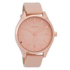Oozoo C9686 Ladies' Watch Leather Strap Powder Pink 43 mm