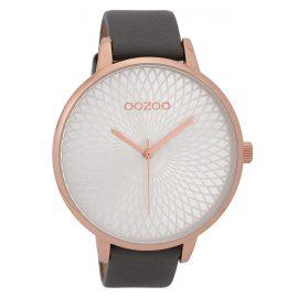 Oozoo C9726 XL Damen-Armbanduhr Grau 48 mm