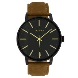 Oozoo C10042 Ladies' Watch Black/Brown 42 mm