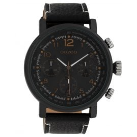 Oozoo C10063 Men's Watch Black 48 mm