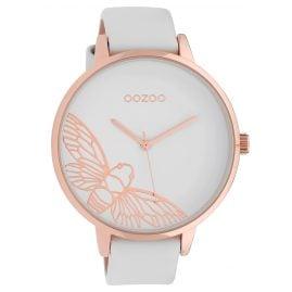 Oozoo C10075 Damenuhr Libelle Weiß 48 mm
