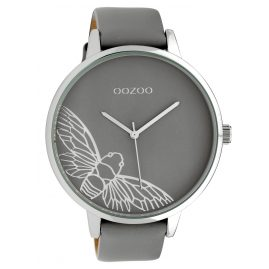 Oozoo C10078 Ladies' Watch Dragonfly Grey 48 mm