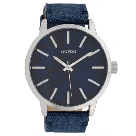 Oozoo C10002 Unisex Watch Dark Blue/Jeans 45 mm