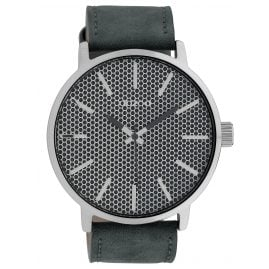 Oozoo C10038 Watch in Unisex Size Grey 48 mm
