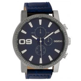 Oozoo C10065 Men´s Wristwatch Dark Blue 50 mm