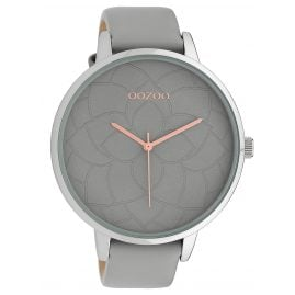 Oozoo C10101 Ladies´ Wristwatch Light Grey 48 mm