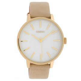 Oozoo C10115 Ladies´ Watch Mother-of-Pearl/Beige 42 mm