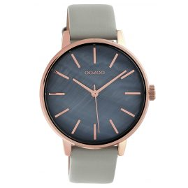 Oozoo C10116 Ladies´ Wristwatch Dark Grey/Light Grey 42 mm
