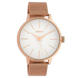 Oozoo C10008 Ladies' Watch White/Rose 42 mm