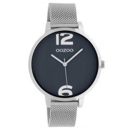 Oozoo C10142 Armbanduhr Dunkelblau/Silber 42 mm