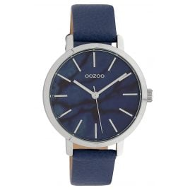 Oozoo C10114 Ladies' Watch with Leather Strap Blue 38 mm