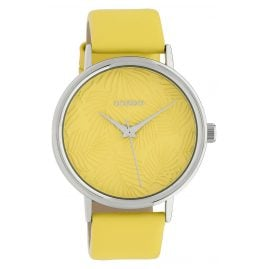 Oozoo C10169 Ladies' Watch with Leather Strap Yellow