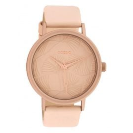 Oozoo C10390 Ladies' Watch with Leather Strap 42 mm Soft Pink