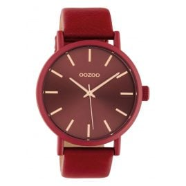 Oozoo C10445 Women's Watch with Leather Strap 42 mm Chilli Pepper