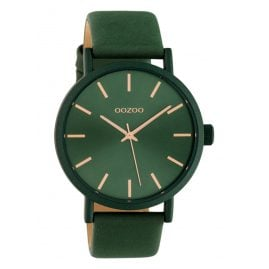 Oozoo C10453 Damenuhr mit Lederband 42 mm Eden Green