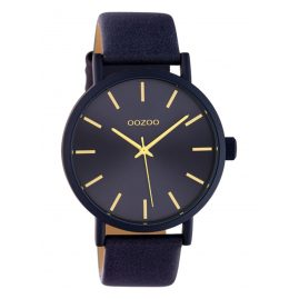 Oozoo C10454 Ladies' Watch with Leather Strap 42 mm Evening Blue