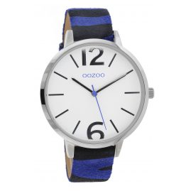Oozoo C10201 Women's Watch Zebra Blue