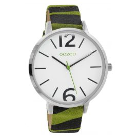 Oozoo C10203 Women's Watch Zebra Green 43 mm