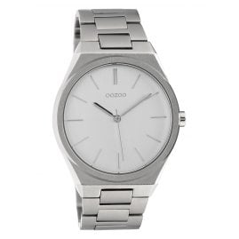 Oozoo C10336 Men's Watch with Steel Bracelet Ø 40 mm Silvery