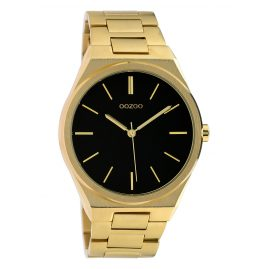 Oozoo C10337 Men's Watch with Steel Bracelet Ø 40 mm Gold/Black