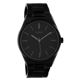 Oozoo C10339 Men's Watch with Steel Bracelet Ø 40 mm Black