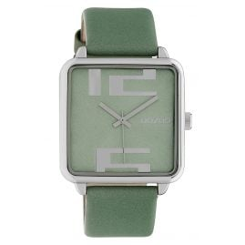 Oozoo C10362 Women's Watch with Leather Strap 35 mm Grey-Green