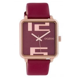 Oozoo C10363 Ladies' Watch with Leather Strap 35 mm Burgundy
