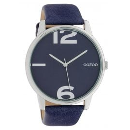 Oozoo C10372 Ladies' Watch with Leather Strap Ø 45 mm Night Blue