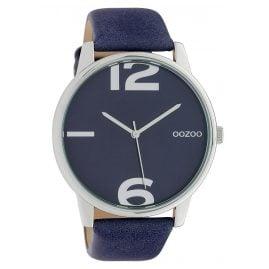Oozoo C10372 Damenuhr mit Lederband Ø 45 mm Nachtblau